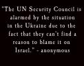 blame israel on ukrain