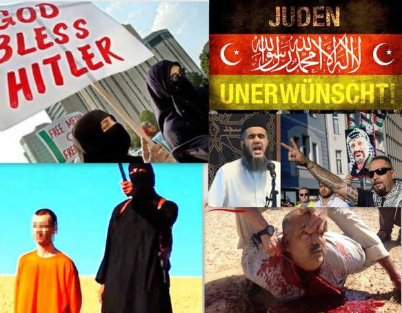 islam frieden collage
