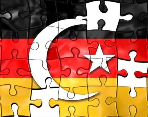 deutschtütkisch fahne