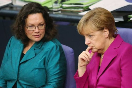 Bundestag Debates Budget As SPD Opens Dialogue To The Left